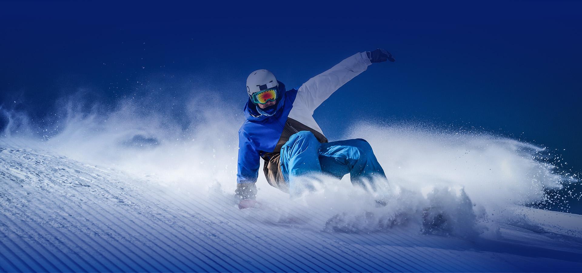 Il piacere dello snowboard